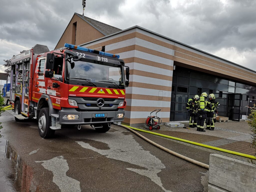 Exercice d'intervention